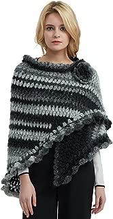 ZORJAR 100% Handmade Crochet Triangle Fashion Thick Winter Scarf Shawl Stole Wrap New Design