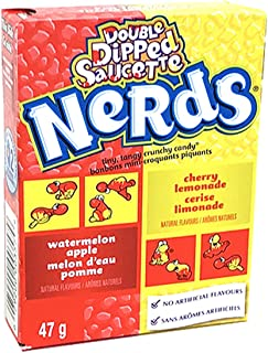 Nerds Double Dipped Saucette 47g - 12 Box Bulk Pack American Candy