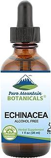 Liquid Echinacea Drops – Kosher Echinacea Tincture Alcohol Free Extract - 500mg Organic Echinacea -1oz Bottle