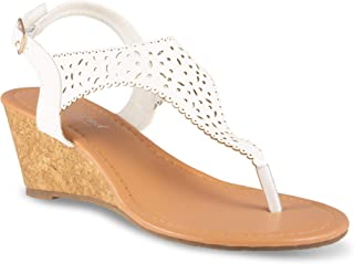 Twisted Women's Riley Z1 Low Wedge Sandal