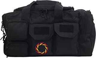 gym bag with water bottle holder