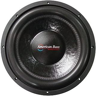 American Bass USA XFL 1244 2000W Max Dual 4? 12