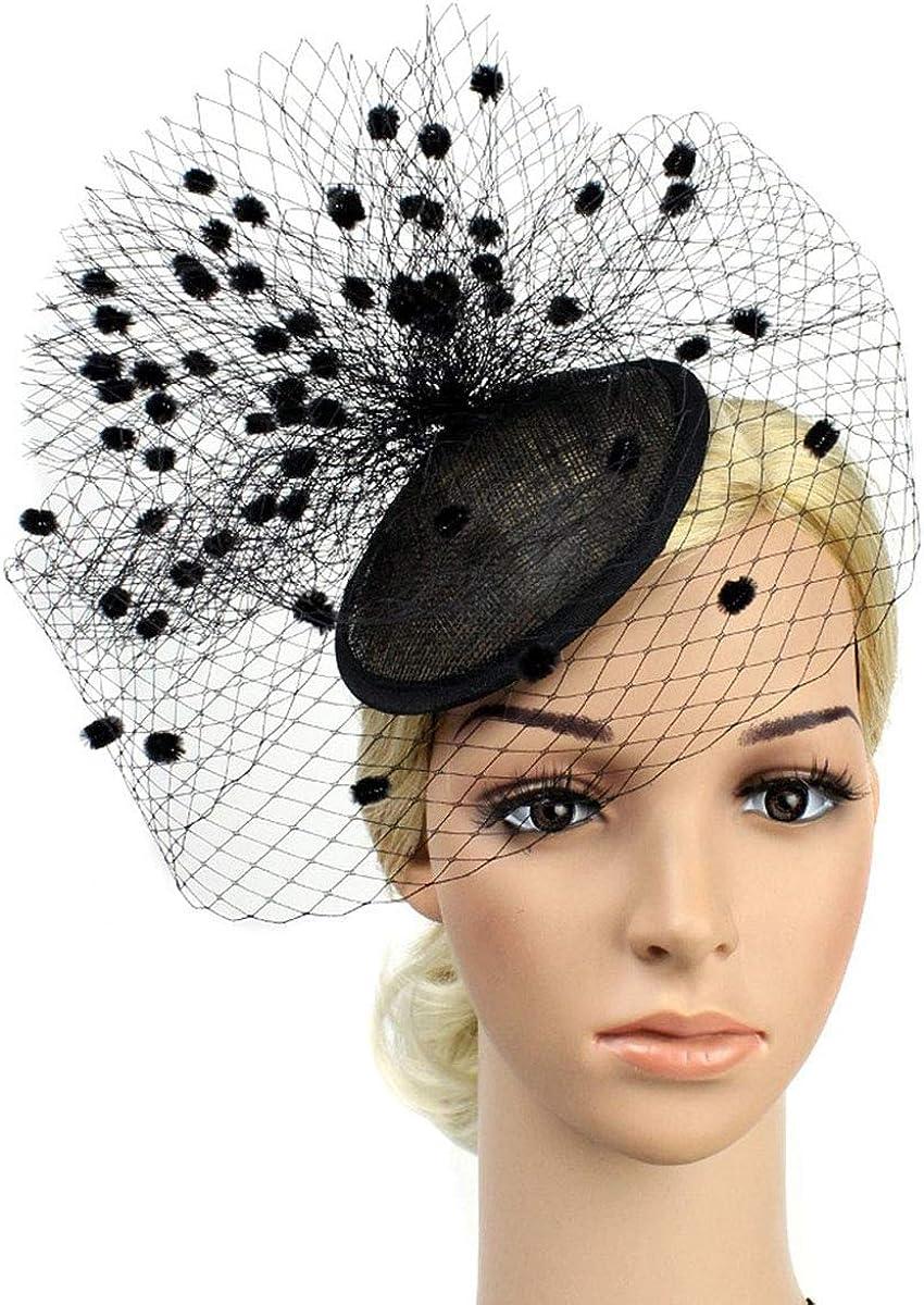 Orcle Cocktail Tea Party Fascinators Headwear Top Hats Wedding Headband for Women