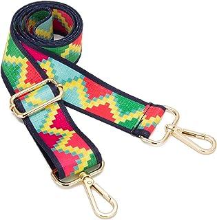 Wide Shoulder Strap Adjustable Replacement Belt Crossbody Canvas Bag Handbag