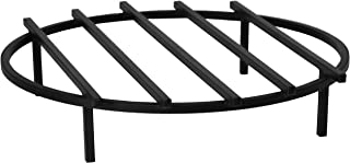 SteelFreak Classic Round Fire Pit Grate, 24 Inch Diameter - Made in The USA