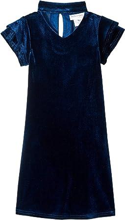 Gigi Velvet Dress (Little Kids)