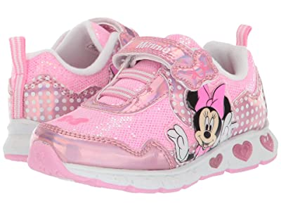 Josmo Kids Minnie Sneaker (Toddler/Little Kid) (Pink) Girls Shoes