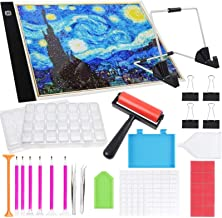 SGHUO Diamond Painting Accessories with 1pc Diamond Painting Roller and Diamond Painting Fix Tools for Art Crafts, LED, Mu...