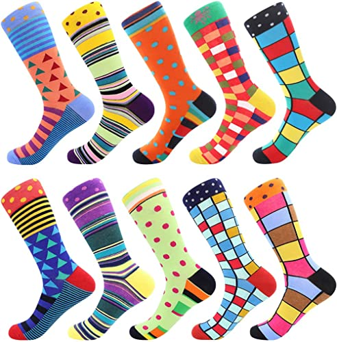 Funny CatCrazy Socks Casual Cotton Crew Socks Cute Funny Sock Great For Sports And Hiking