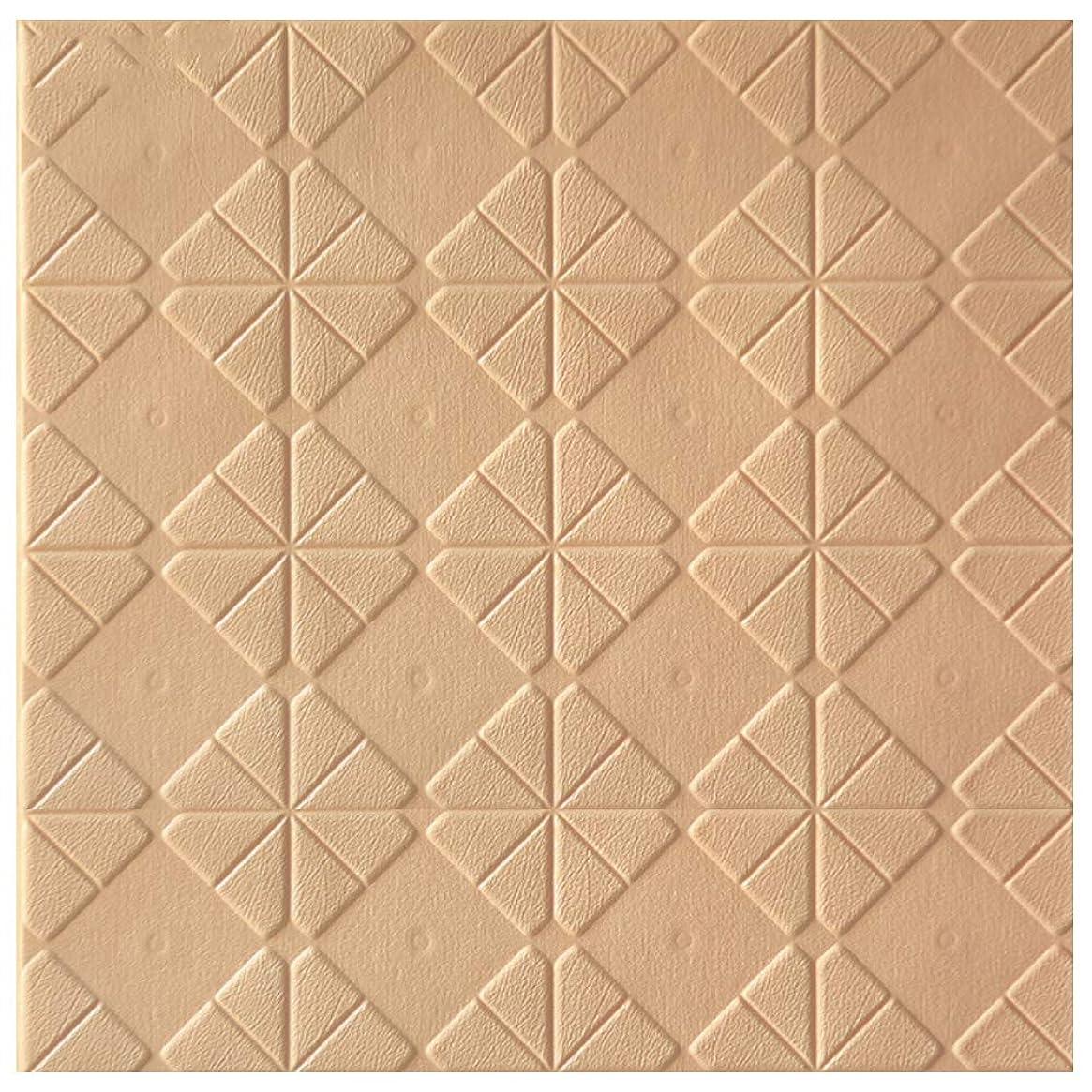 判読できない男ブレース3D壁パネル自己接着石の外観の壁紙耐水性レンガ壁デカールPVCコンパクトDIY発泡パネルソフトレンガキッチンリビングルームの家の装飾のための衝突防止壁ステッカー(ホワイト)
