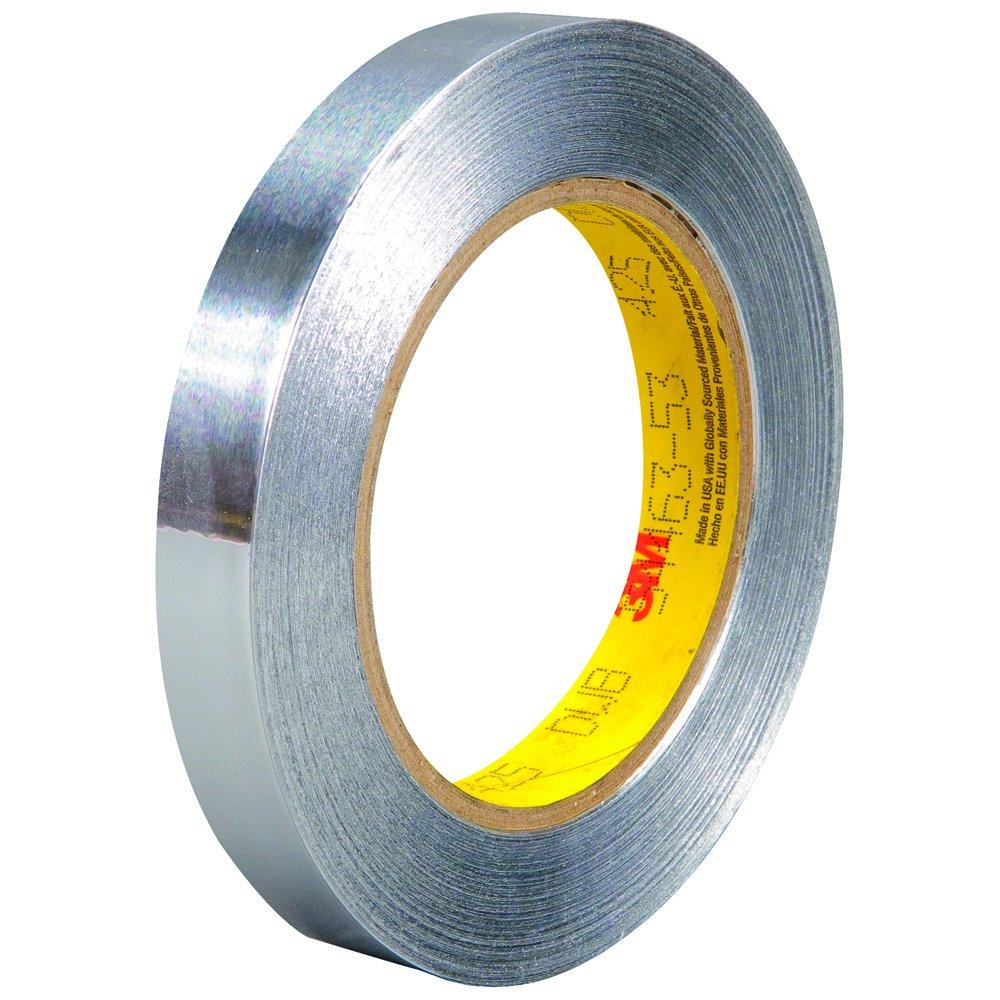 3M 425 Aluminum Foil Max 71% OFF Tape 4.6 Mil yds x Silver 1 Cas 2