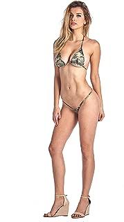 SHORE TRENDZ Women's 2 Piece Camo Micro Bikini Set