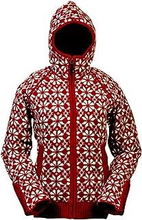 ICEWEAR Helga Nordic Design Women´s Wool Hooded Sweater Jacket - Warm Clothing