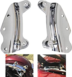 AUFER Chrome 4-Point Docking Hardware Kit for Touring Road King Road Glide Street Glide Electra Glide 2009-2013