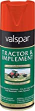 Valspar 5339-24 Kbota Orange Tractor and Implement Spray Paint - 12 oz.