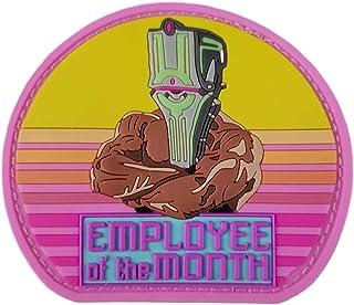 Employee of The Month Warframe John Prodman PVC Patch by Snake Hound Machine
