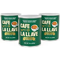 Deals on 3-Pack Cafe La Llave Espresso Dark Roast Coffee 10 oz Cans