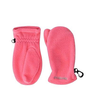 Columbia Kids Fast Trektm Mitten (Toddler) (Bright Geranium) Extreme Cold Weather Gloves