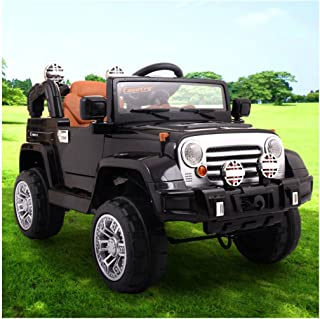Unbranded 12V Jeep Style Kids Ride on Truck Battery Powered Electric Car W/Remote Control