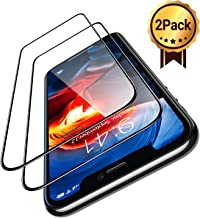 "TORRAS iPhone 11 PRO Screen Protector, iPhone X/XS Screen Protector [Undefeatable 9H Toughen] [Full Coverage] [Anti-Shatter] Tempered Glass Screen Protector for iPhone 11 Pro, X/XS 5.8"" - [2 Pack]"