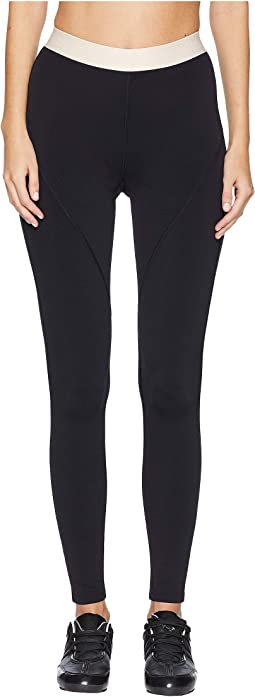 High-Waisted Leggings with Logo Elastic Waistband