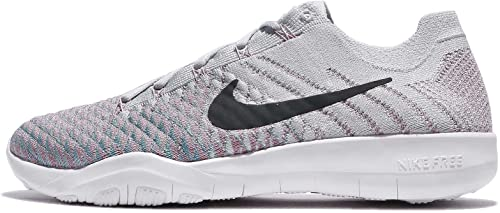 Nike Libre TR Flyknit 2 femmes FonctionneHommest chaussures (6.5 B(M) US, Pure Platinum Anthracite)