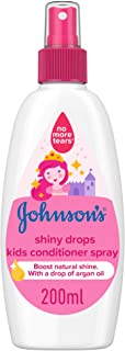JOHNSON'S Toddler & Kids Conditioner Spray - Shiny Drops, Formula Free of Parabens & Dyes, 200ml