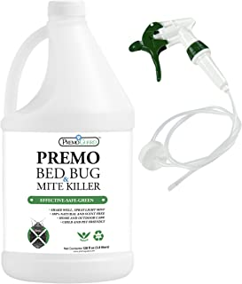 BED BUG, LICE & MITE KILLER SPRAY – 128 oz – Natural Non Toxic – Child &..