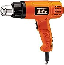 BLACK+DECKER KX1800 1800W Dual Temperature 2 Speed Heat Gun (Orange and Black)