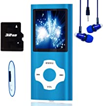 $21 » MP3 Player / MP4 Player, Hotechs MP3 Music Player with 32GB Memory SD Card Slim Classic Digital LCD 1.82'' Screen Mini USB...