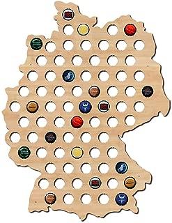 germany beer cap map