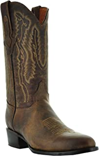 Mens Odessa Round Toe Cowboy Boots