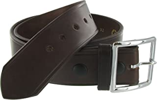 Leather 1.75in. Garrison Leather Belt US Made, Black or Brown