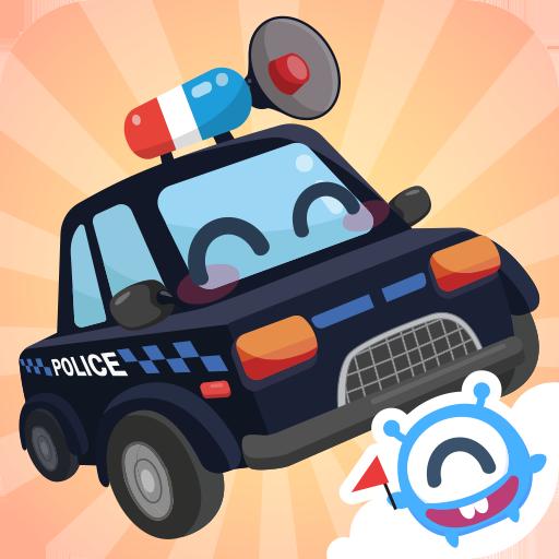 CandyBots Camion e Auto 🚓 Veicoli Bambini Puzzles