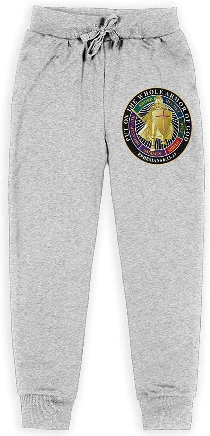 Put On The Full Kansas City Mall Armor of God Pants Kids outlet All Cotton wi Sweatpants