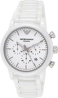 Emporio Armani Men's AR1499 Dress White Quartz Watch