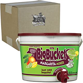 Master of Mixes Margarita Mix, Ready to Use, 96 oz Low-Profile BigBucket, Individually Boxed