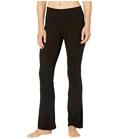 Beyond Yoga Free Bird High-Waisted Mini Bell Pants (Black) Women