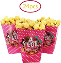 LOL party popcorn box LOL party supplies preference, LOL birthday theme party LOL movie party, lol fans' favorite