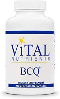 Vital Nutrients - BCQ (Bromelain, Curcumin and Quercetin) - Herbal Support for Joint, Sinus and Digestive Health - 240 Cap...