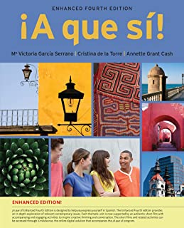 A que si!, Enhanced (with iLrn Advance Printed Access Card) (World Languages)
