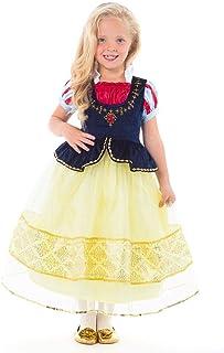Little Adventures Deluxe Snow White Princess Dress Up Costume (Medium Age 3-5)