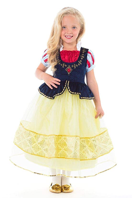 Little Adventures Deluxe Snow White Princess Dress Up Costume