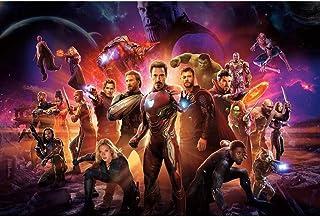 no brand Puzzle-Adulte 300/500/1000/1500 Avengers Décompression Bois Puzzle Puzzle Enfants Puzzle Toy Cadeau (Size : 1000 ...