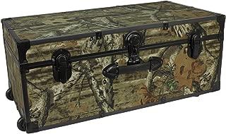 Seward Trunk Mossy Oak 30-inch Stackable Storage Locker with Wheels, Camo