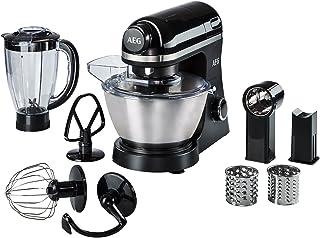 AEG KM3300 Robot Cocina, 800 W, 6 velocidades, Aluminio,