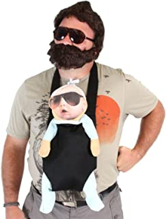 TV Store The Hangover Alan Costume Accessories Set (Baby  Carrier  2 Sunglasses  Beard)