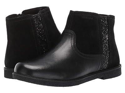 Geox Kids Jr Shawntel 13 (Little Kid/Big Kid) (Black Oxford) Girls Shoes