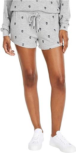 Minimalist Skull Shorts