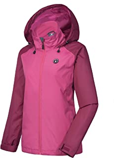 Earnest Outdoor Unisex Cycling Running Waterproof Windproof Jacket Rain Coat Traveling Camping & Hiking